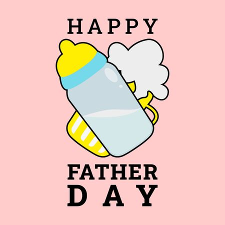 This illustration was made to commemorate Father's Day. This illustration can be used for various needs both for commercial, educational or personal needs.