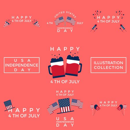 This illustration was made to welcome United States Independence Day. This illustration can be used for various needs, be it commercial, educational, or personal needs.