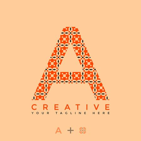 This is the design of the letter A logo with the initial logo style. This logo is suitable for companies or other creative business sharing. This logo can be used for commercial, educational and personal needs.