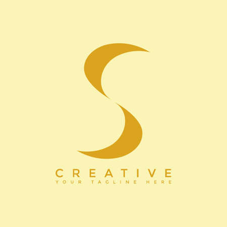 This is the design of the letter S logo with the initial logo style. This logo is suitable for companies or other creative business sharing. This logo can be used for commercial, educational and personal needs.