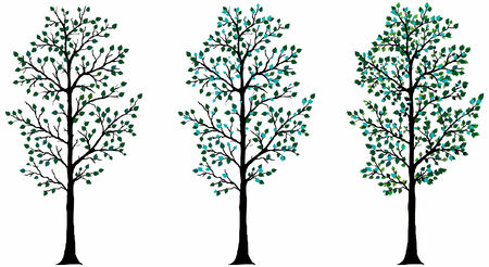 Vector tree for use in flash or design projects.