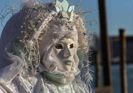 Il carnevale maschera l'evento annuale di sostegno a Venezia Italia