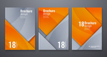 Abstract flyer design background. Brochure template  isolated on colorful presentation.