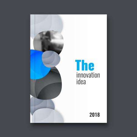Abstract flyer design background. Brochure template. Banco de Imagens - 116734876