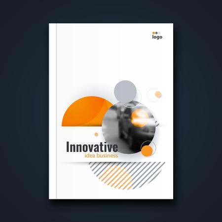 Abstract flyer design background. Brochure template. Banco de Imagens - 116734885