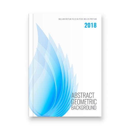 Abstract flyer design background. Brochure template. Banco de Imagens - 116734734