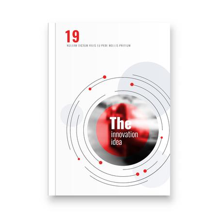 Abstract flyer design background. Brochure template. Banco de Imagens - 116734736