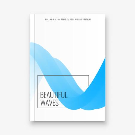 Abstract flyer design background. Brochure template. Banco de Imagens - 116734752