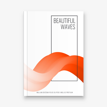 Abstract flyer design background. Brochure template. Banco de Imagens - 116734754
