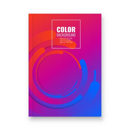 Abstract flyer design background. Brochure template. Banco de Imagens - 116734451