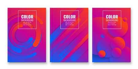Abstract flyer design background. Brochure template. Can be used for magazine cover, business mockup, education, presentation, report. Ilustração