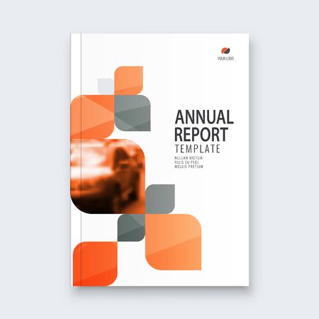 Abstract flyer design background. Brochure template. Banco de Imagens - 116734330