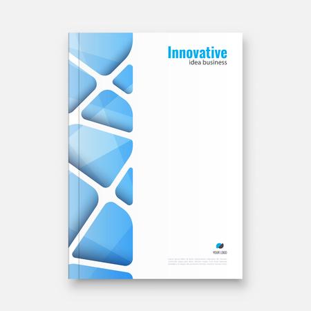 Abstract flyer design background. Brochure template. Banco de Imagens - 117033190