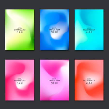 Abstract flyer design background. Brochure template. Banco de Imagens - 122306207