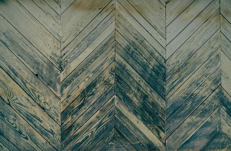 Old weathered wooden texture, a triangular pattern