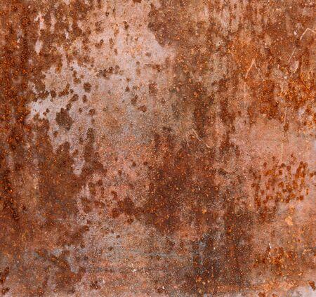 Bijtende roestige metalen achtergrond, textuur Stockfoto