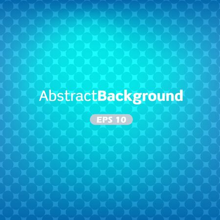 Blue abstract vector background with dots Illustration