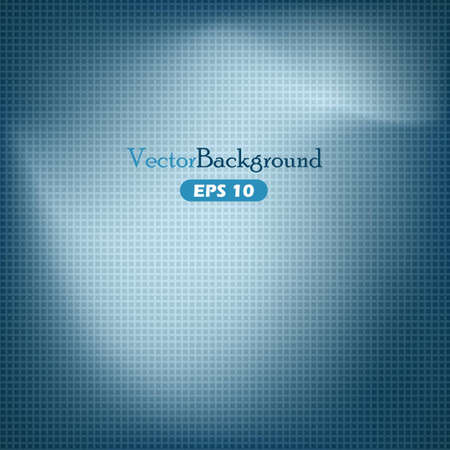 Blue abstract vector background with grid Stock Vector - 15798845