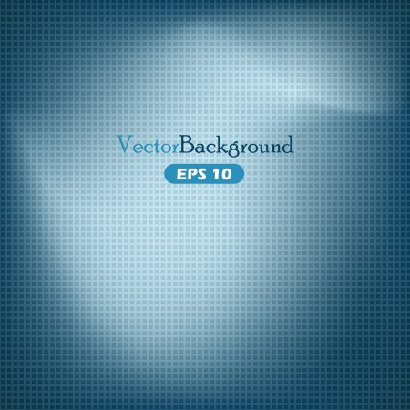 Blue abstract vector background with grid Illustration