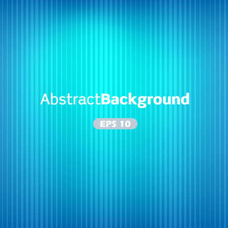 Blue abstract vector background with stripes