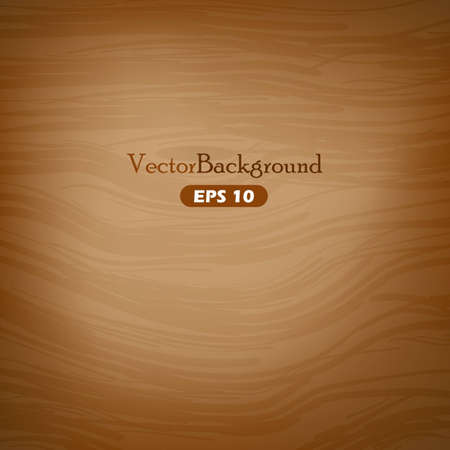 Brown wooden vector background Ilustrace