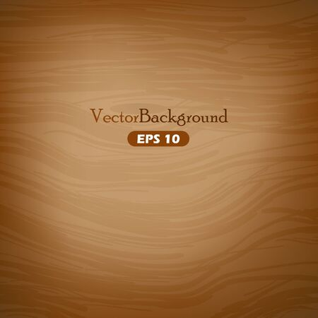 Brown wooden vector background Illustration