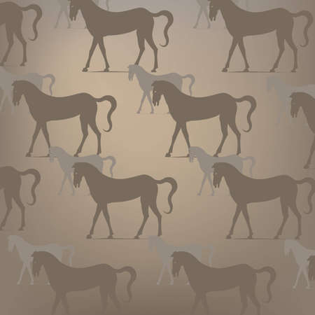 light brown horse: Brown horse pattern