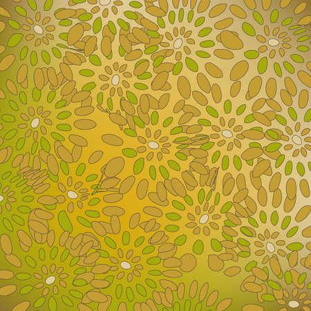 Colorful flower pattern Illustration