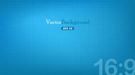 Blue wide-screen background Vector
