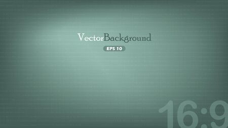 Green wide-screen background Stock Vector - 16429594