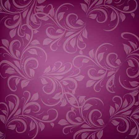 Violet ornament Stock Vector - 16984371