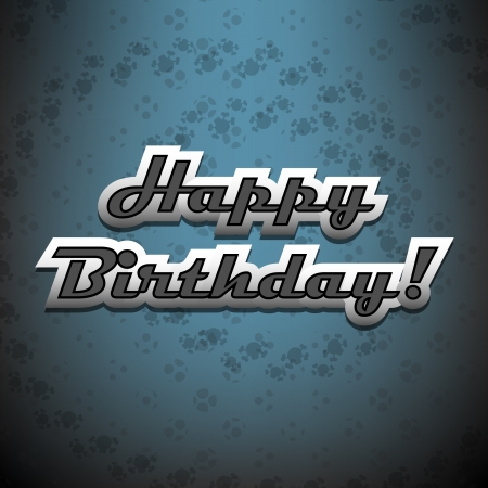 Happy Birthday card to metal-heads