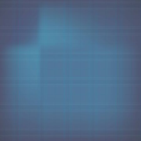 Blue abstract with grid