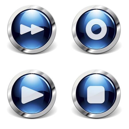 rewind icon: Internet logos
