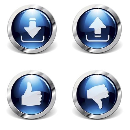 Logotipos de Internet Foto de archivo - 11532440