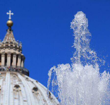 water jet: Water jet instead Vatican