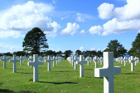 omaha: Omaha Beach: the cemetery amricain
