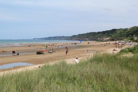omaha: Omaha Beach: the beach today