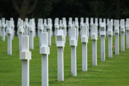 omaha: Omaha Beach: the American cemetery