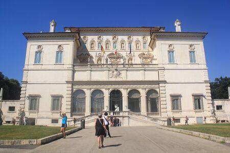 villa borghese: Rome Villa Borghese Editorial