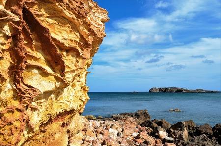 algarve: A view of beach Algarve region, Portugal