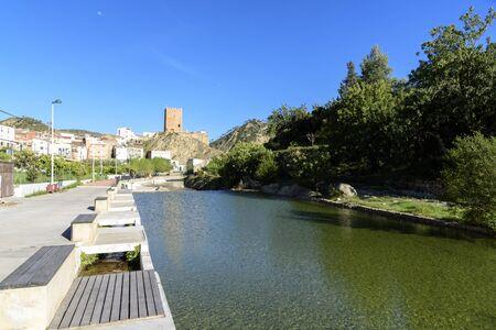 spanish village: Spanish village beside a river Reatillo, Valencia Stock Photo