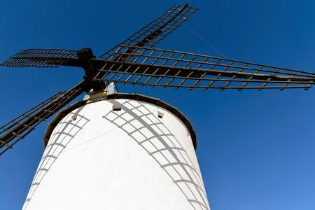 Famous windmills in Spain