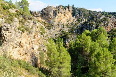 Views corridor Pena Cortada, Spain