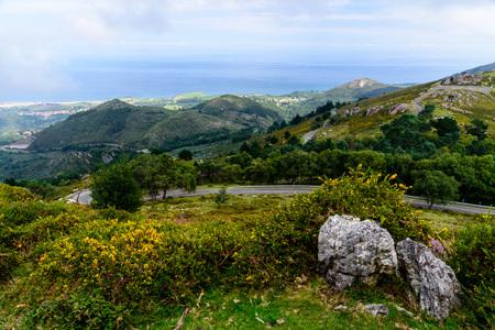 By peaks in Europe Asturias, Spain