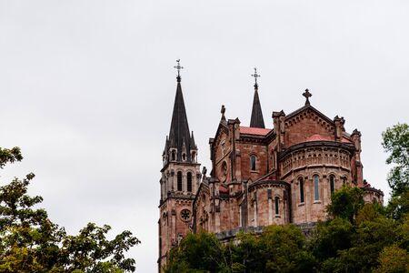 Basilica of Our Lady Battles, Asturias