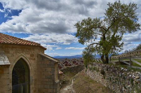Medieval town of Morella, Castellon in Spain