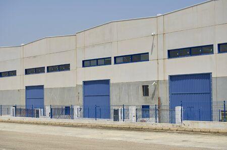 Außenliegendes Industrielager