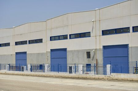 Nave industrial exterior