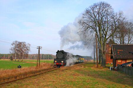 telegraphy: A partire dalla piccola stazione treno passeggeri a vapore